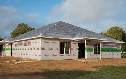Bullard Mission Clinic facility takes shape as construction of the building exterior progresses